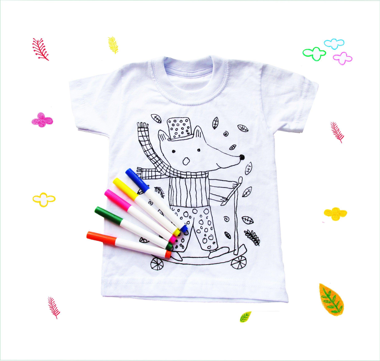 Magnífico Plantilla De Camiseta Para Colorear Imágenes - Ideas Para ...