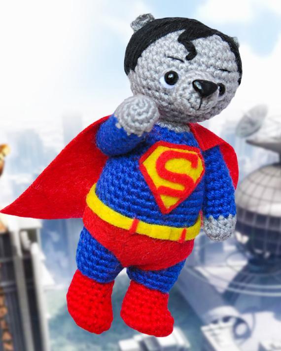 Amigurumi Oyuncak Superman Modelleri - Moda Model | 712x570