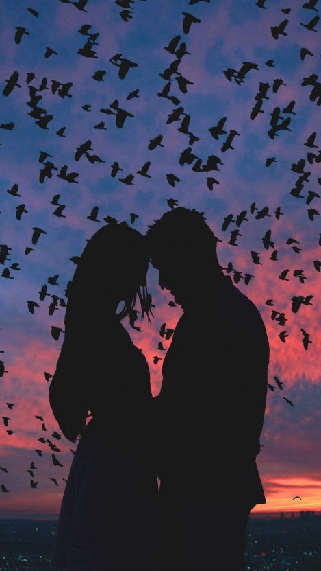Sunset Lovers Iphone Wallpaper Love Wallpapers Romantic Cute Love Wallpapers Love Wallpaper Backgrounds