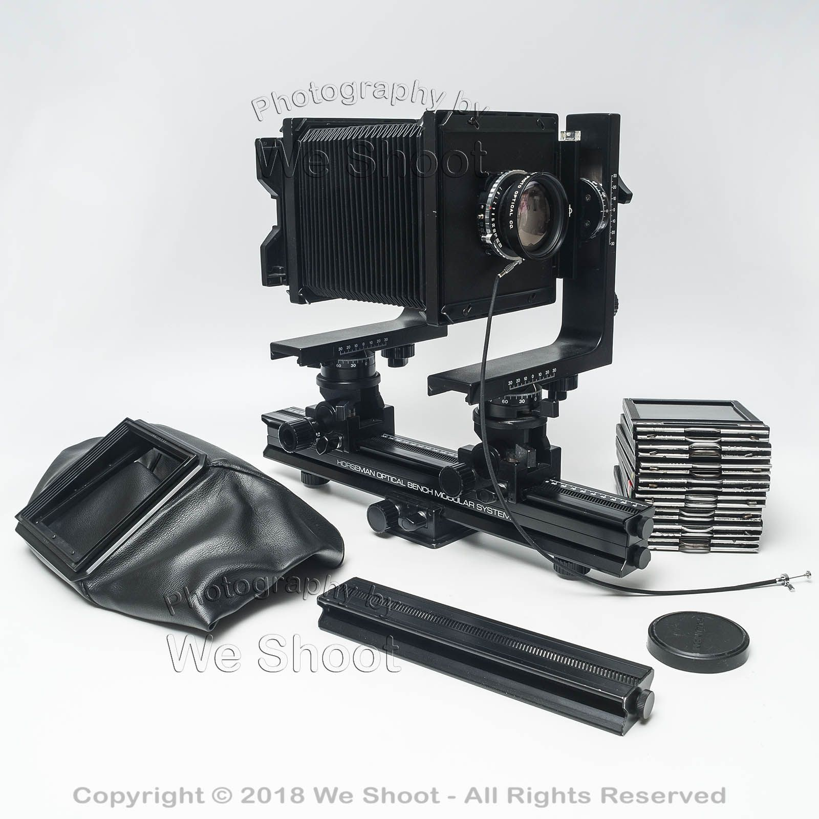 4x5 optical bench camera and accessories seattle commercial