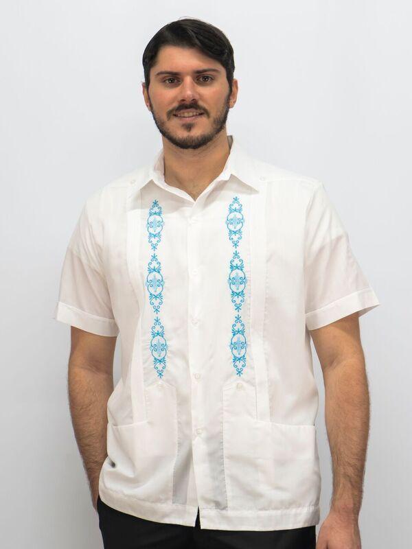 79bca5d19a Buy Casual Guayabera   Banded Bottom Mens Shirts