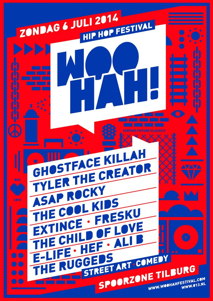 Concept Poster For New Hiphop Festival At Redesigned Old Industrial
