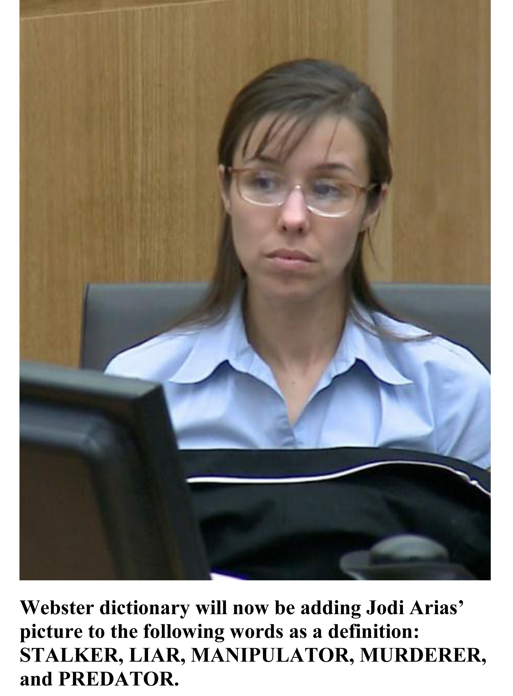 jodi arias should she have received the Jodi's case has had the country- and juries- divided for some time in 2008, after a rocky relationship, jodi killed her ex-boyfriend, travis, in a fit of rage.