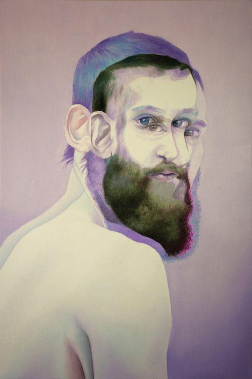 "Saatchi Online Artist: Shaina Craft; Oil 2013 Painting ""Experiment 200"""