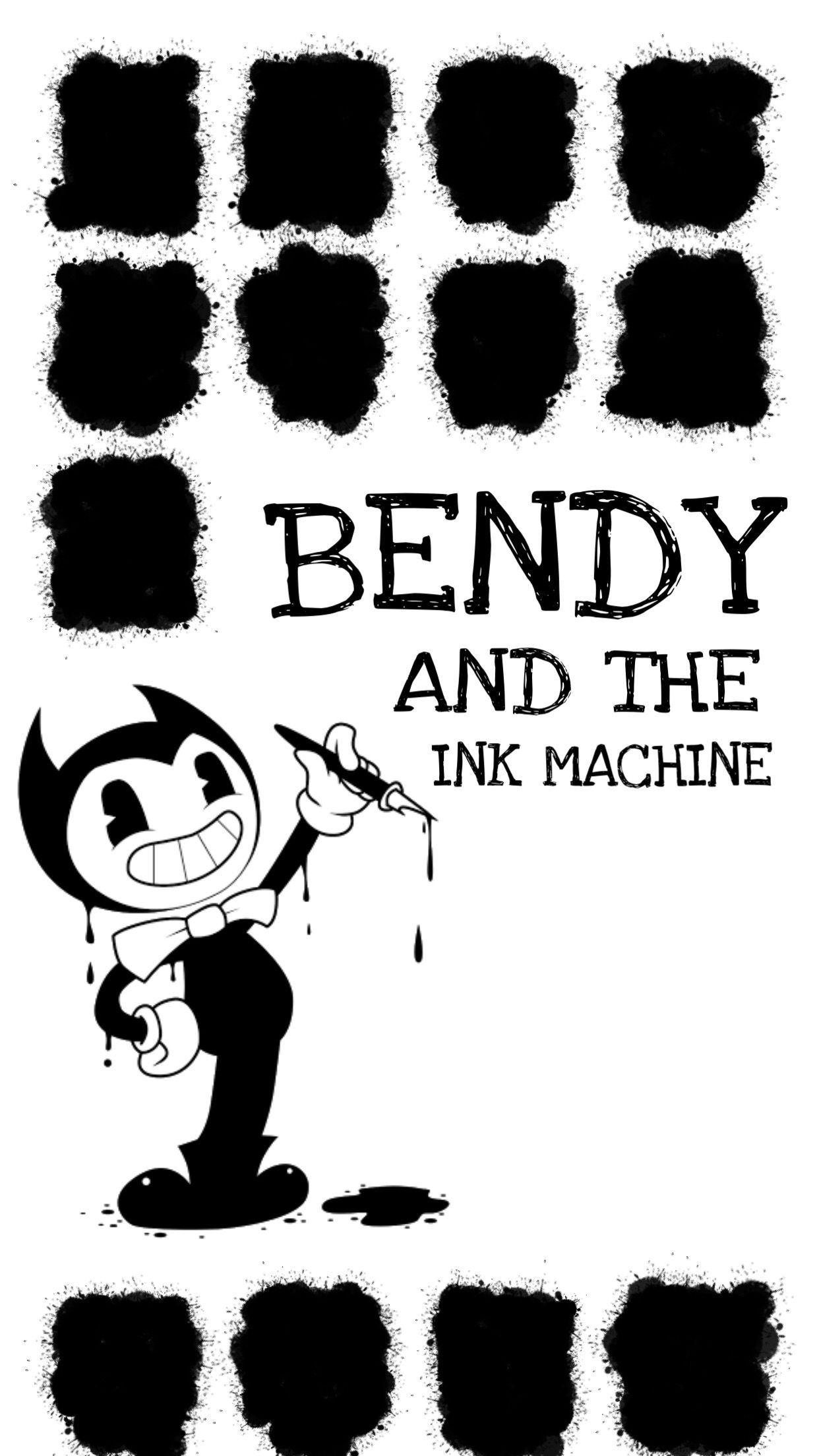 Iphone Wallpaper Bendy Creado Por P E N T A With Images Bendy