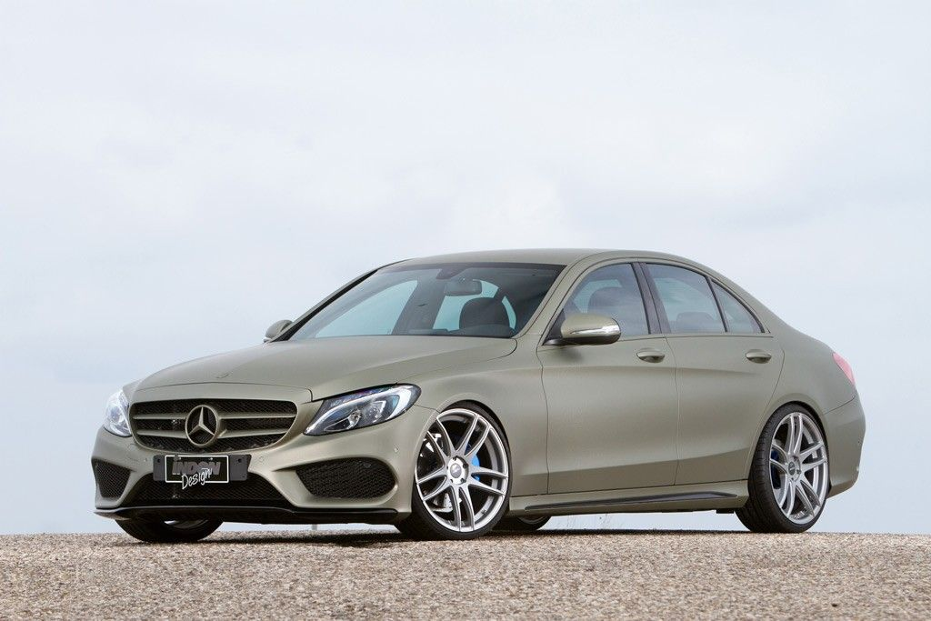 Mercedes-Benz C-Class (W205) by Inden Design #mbhess #mercedes #mbtuning #idendesign