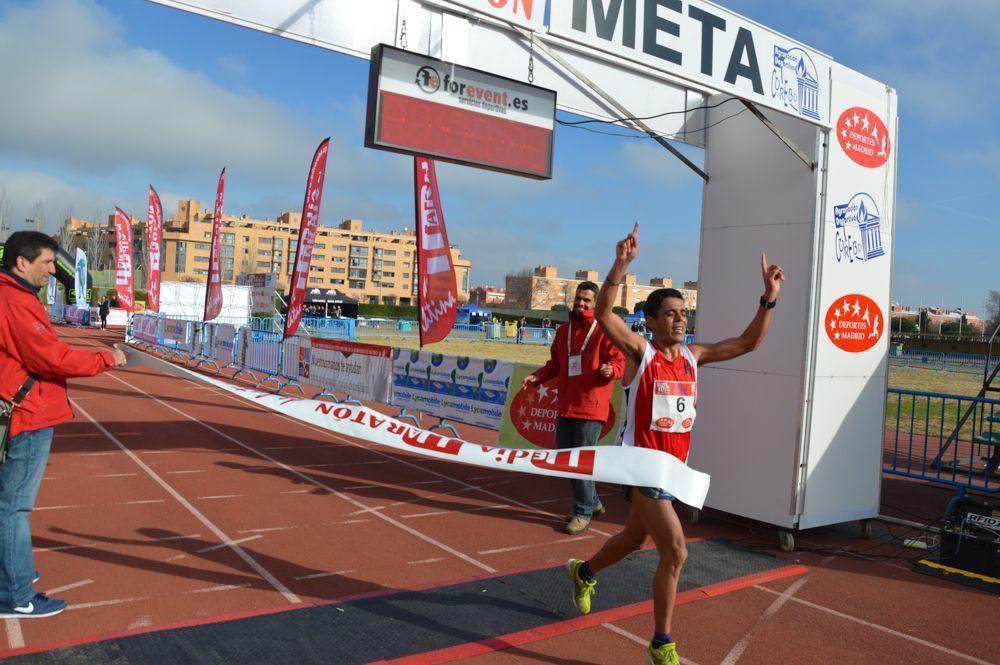 Llegada A Meta De Primer Clasificado Media Maraton Metas Latinas