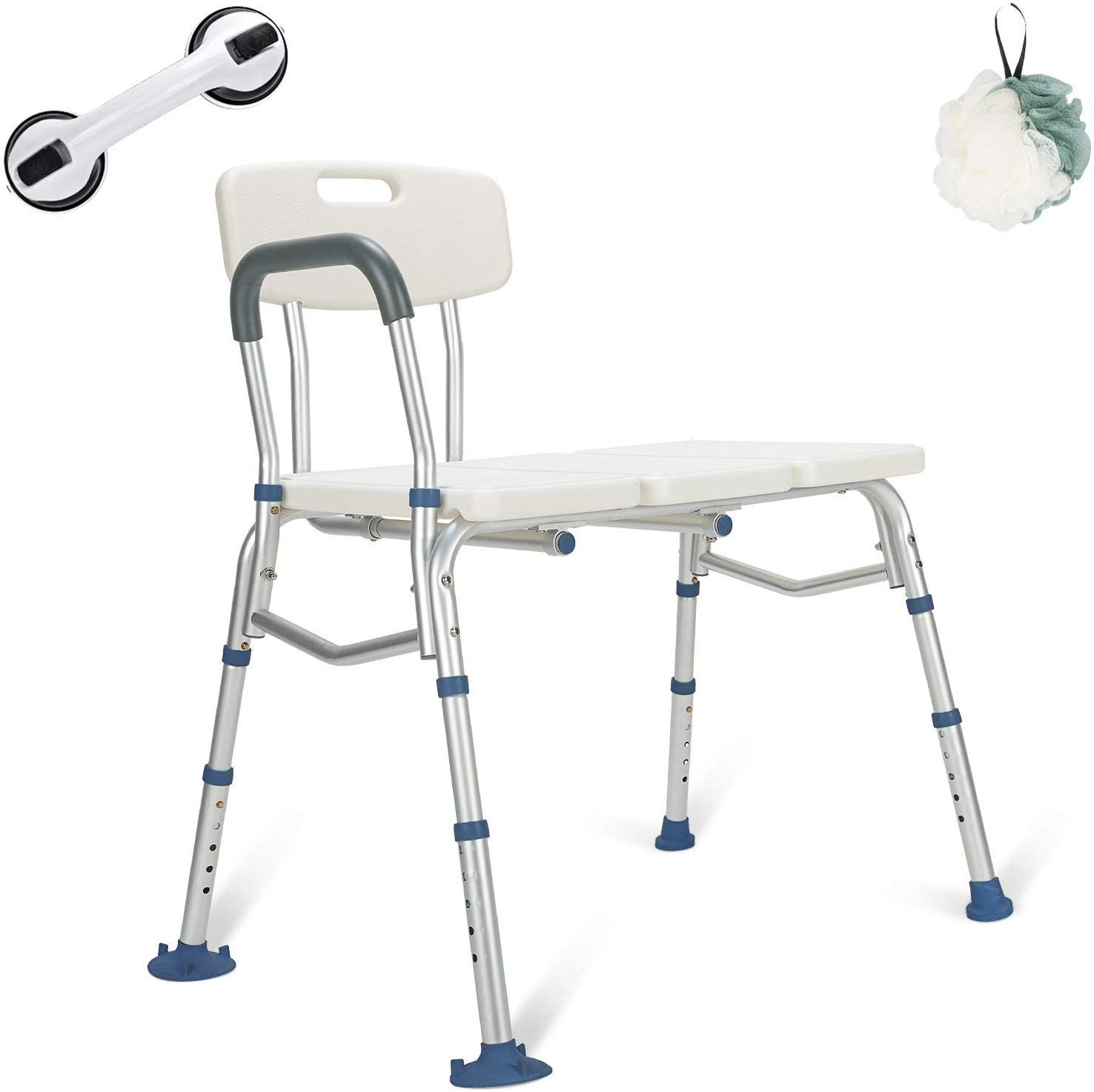 Amazon Com Greenchief Bariatric Tub Transfer Bench 400 Lb Heavy Duty Bath Shower Assist Adjustable Ha Handicap Shower Shower Chair Handicap Shower Chair