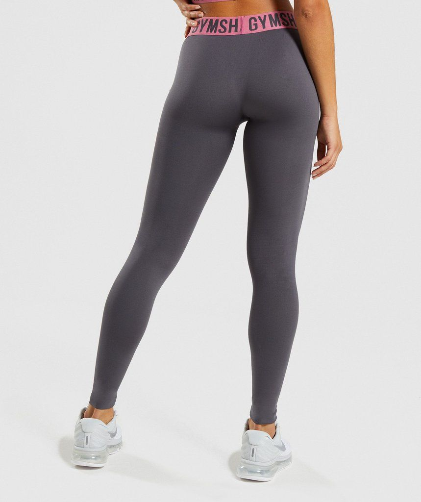 87cc2bc922fc0 Gymshark Fit Leggings - Charcoal/Dusky Pink in 2019 | Wish List ...