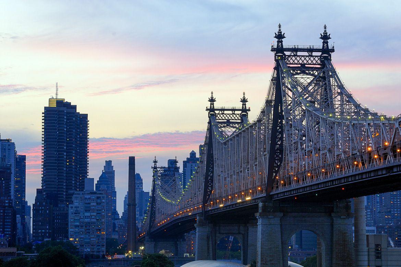 Immagine del Ponte di Queensboro a New York La città vista dal ...
