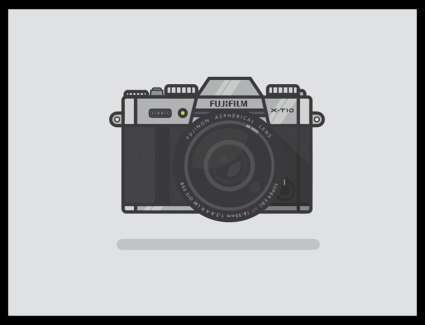 Fujifilm X T10 Fujifilm Camera Drawing Fujifilmcameradrawing Fujifilm X T10 Designed By Alejandro Duarte Connec Camera Drawing Fujifilm Camera Fujifilm