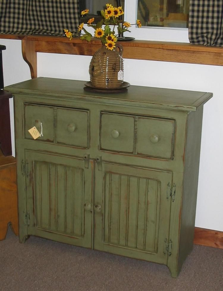 Small Buffet Cabinet Want In Blue Not Green