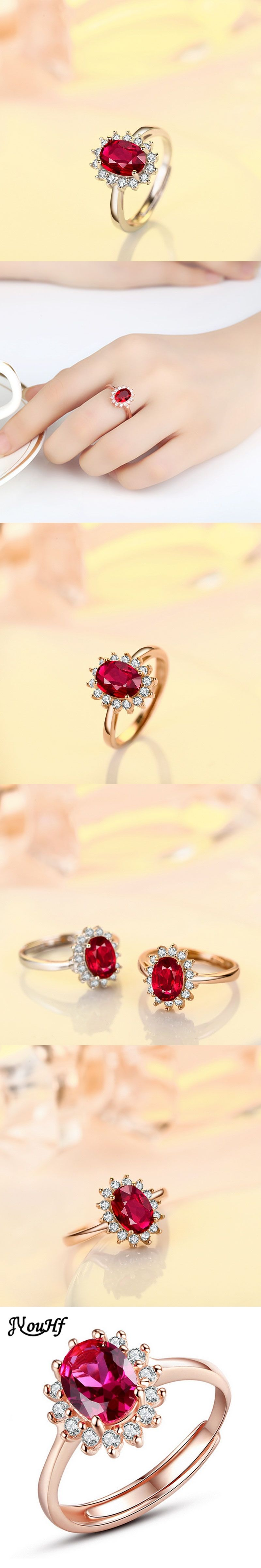cluster ring jewellers owned second t rings hand family yellow corundum h pre baker gold
