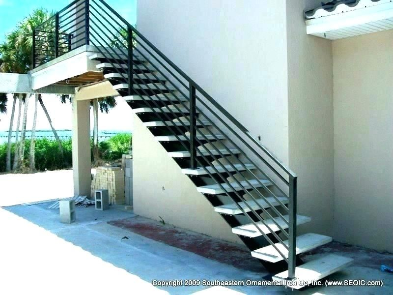 Best High Resolution Outdoor Metal Stair Railing Handrails For 400 x 300