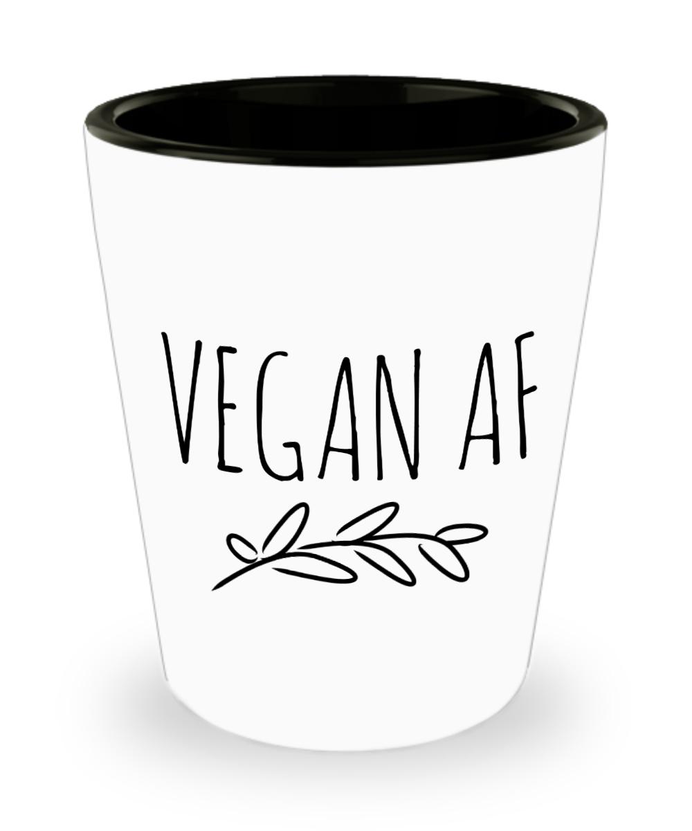Funny Shot Glass For Vegan 15oz