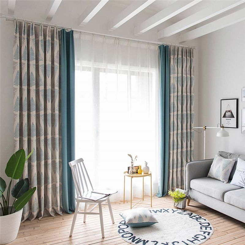10 Top Printed Living Room Curtains