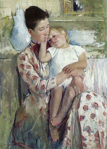 Mother and Child 1890 Cassatt Mary