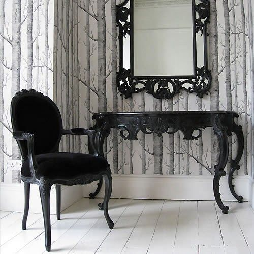 The Everyday Goth: CorpGoth Decor: Minimalist Baroque