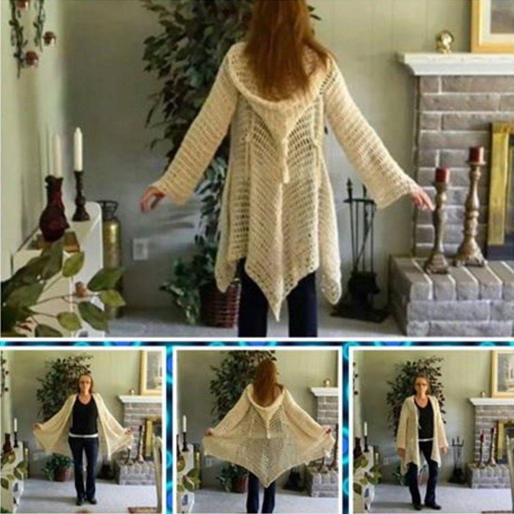 Crochet Gypsy Jacket Pattern | tejidos seleccionados | Pinterest ...