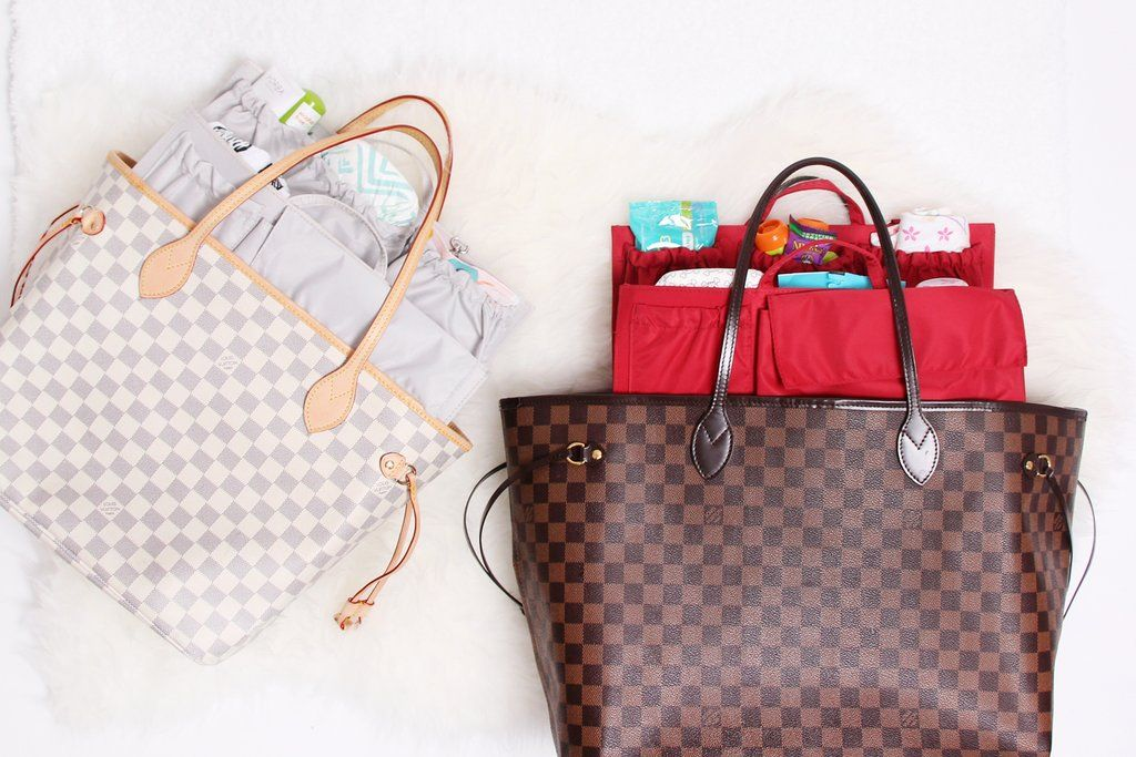7e547cc6a2df Turn your favorite Louis Vuitton Neverfull GM or MM into a fully functional diaper  bag with