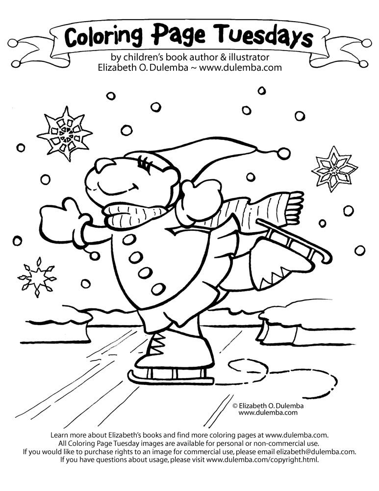 january coloring pages | January 2009 | January | Pinterest ...