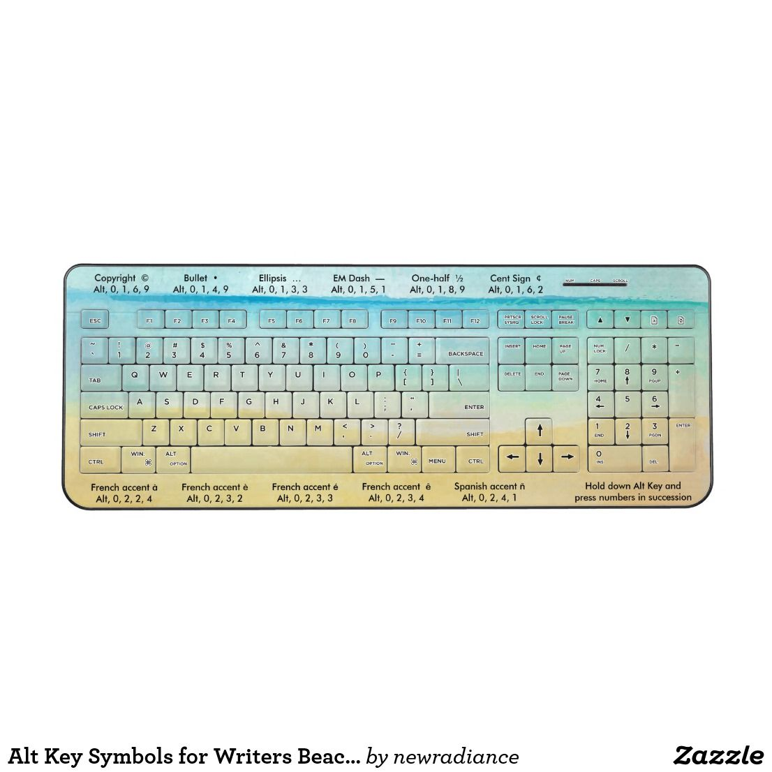 Alt key symbols for writers beach scene wireless keyboard common alt key symbols for writers beach scene wireless keyboard common keyboard symbols used by writers biocorpaavc Images