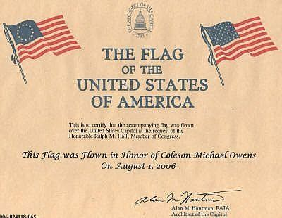 How To Get A Flag Flown Over The Us Capitol Ehow Com Eagle Scout Girl Scout Leader Certificate Templates