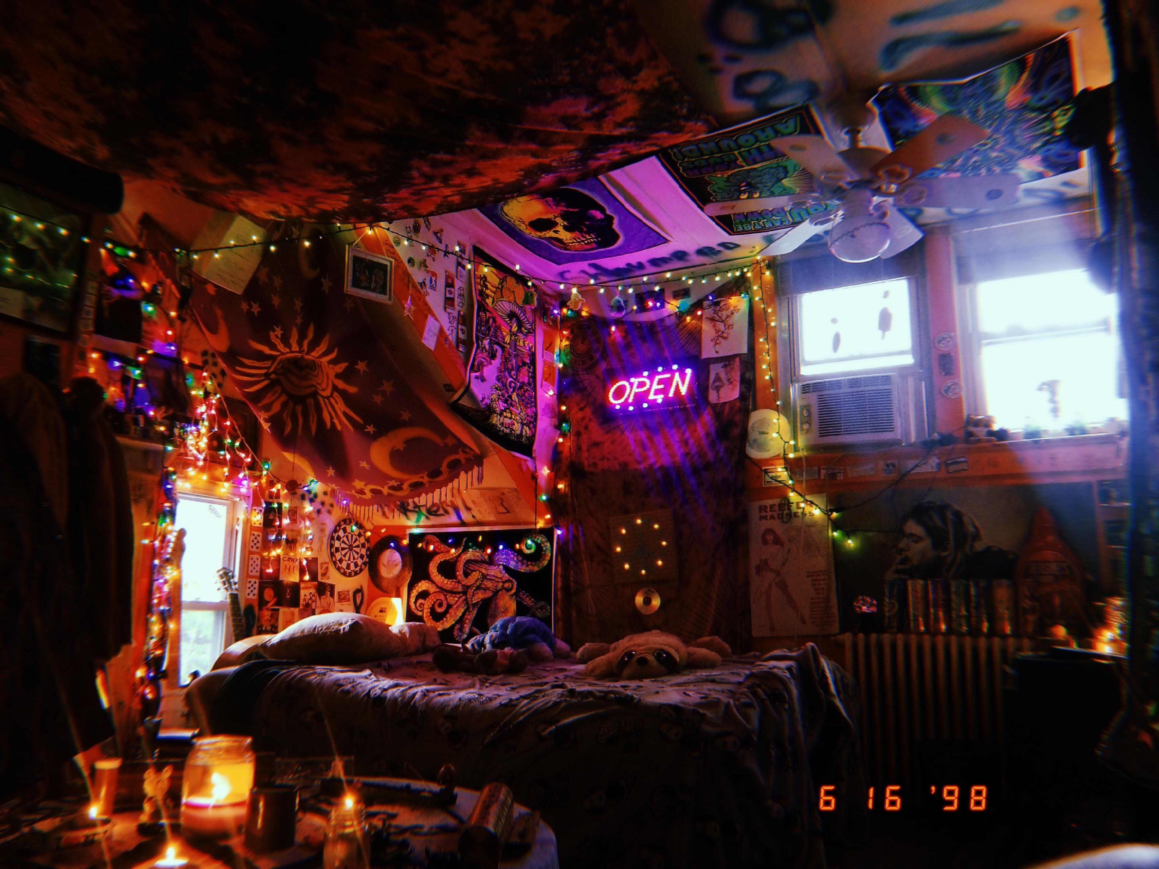 My Trippy Room Aesthetic Room Decor Retro Room Grunge Room