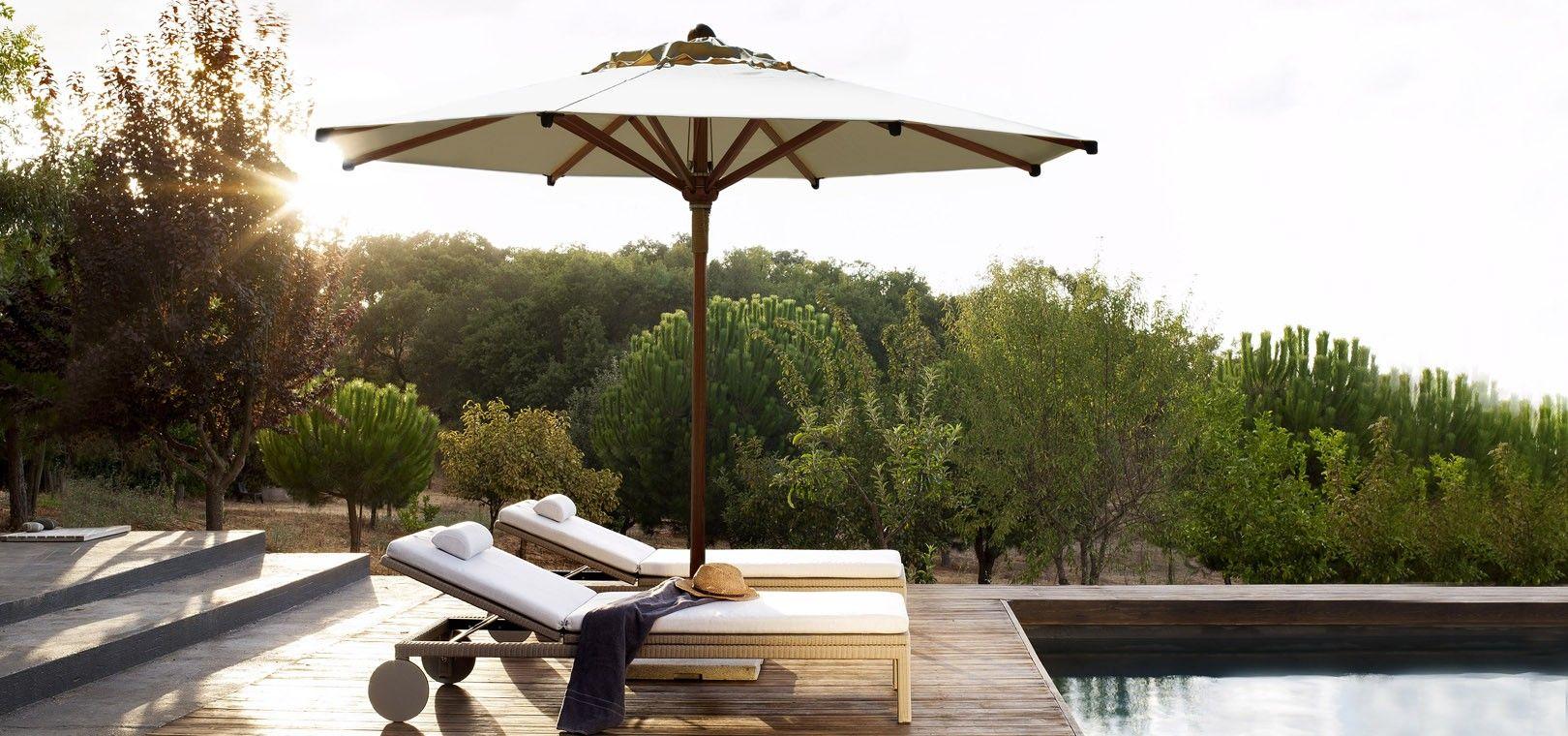 Eclipse umbrella wood | Tribù | Furniture Options | Pinterest | Woods