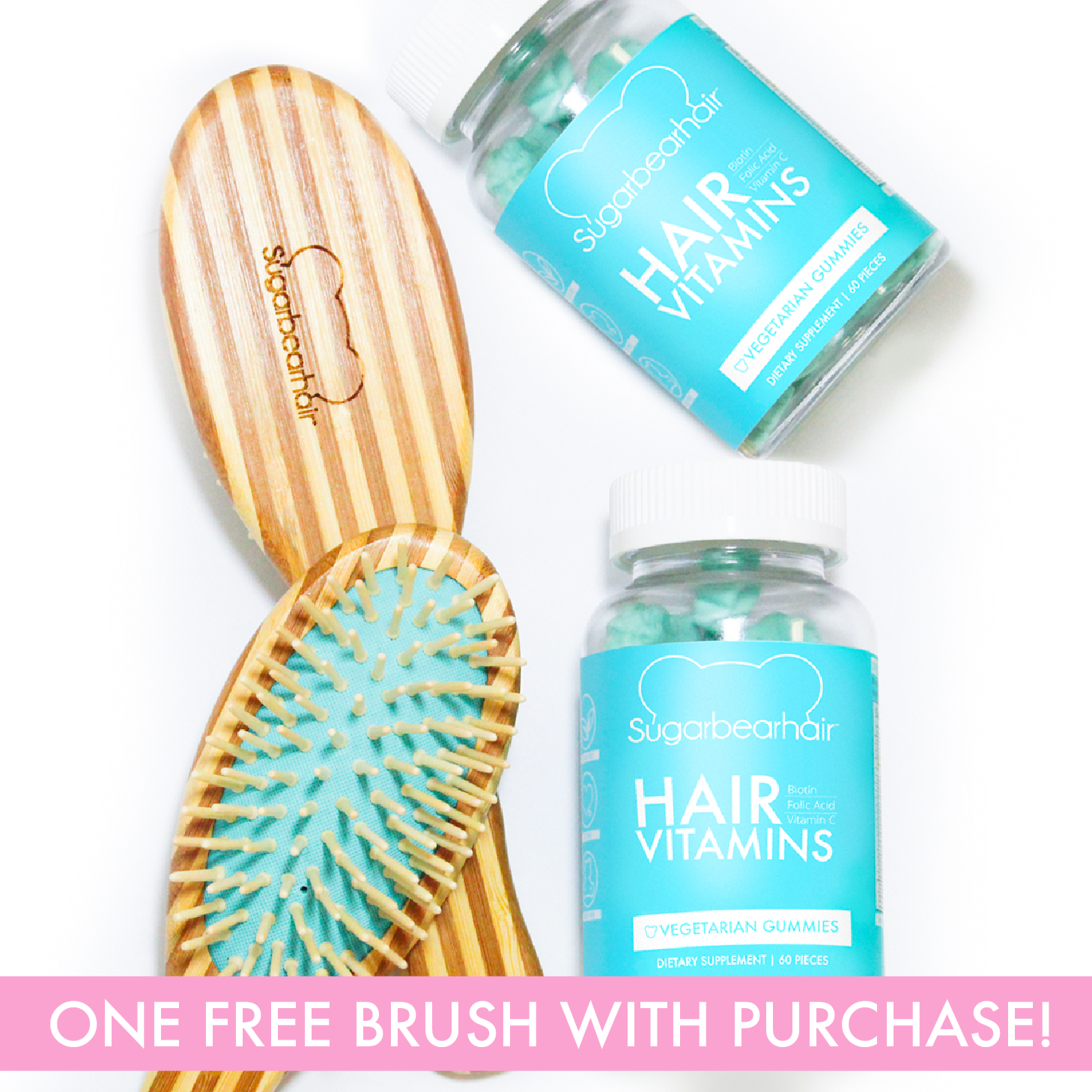 2d4e80abb8166 This website exclusive 6 month gift pack saves you almost  20 USD and comes  with one FREE Cruelty Free Natural Wood Hair Brush and one FREE Luxury  Cosmetic ...