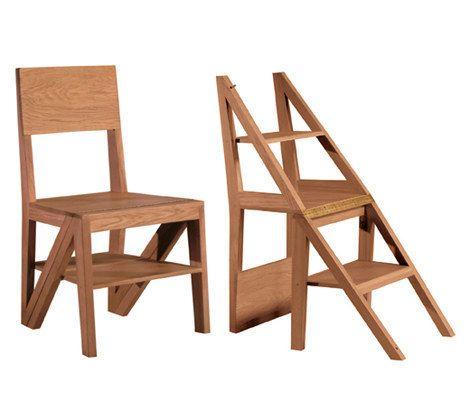 silla escalera! | Jardin | Pinterest | Espacios pequeños, Escalera y ...