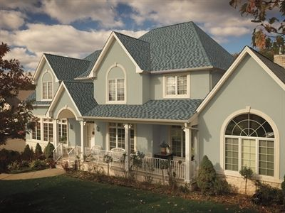 GAF Timberline American Harvest Nantucket Morning Lifetime Roofing System # Roof #home