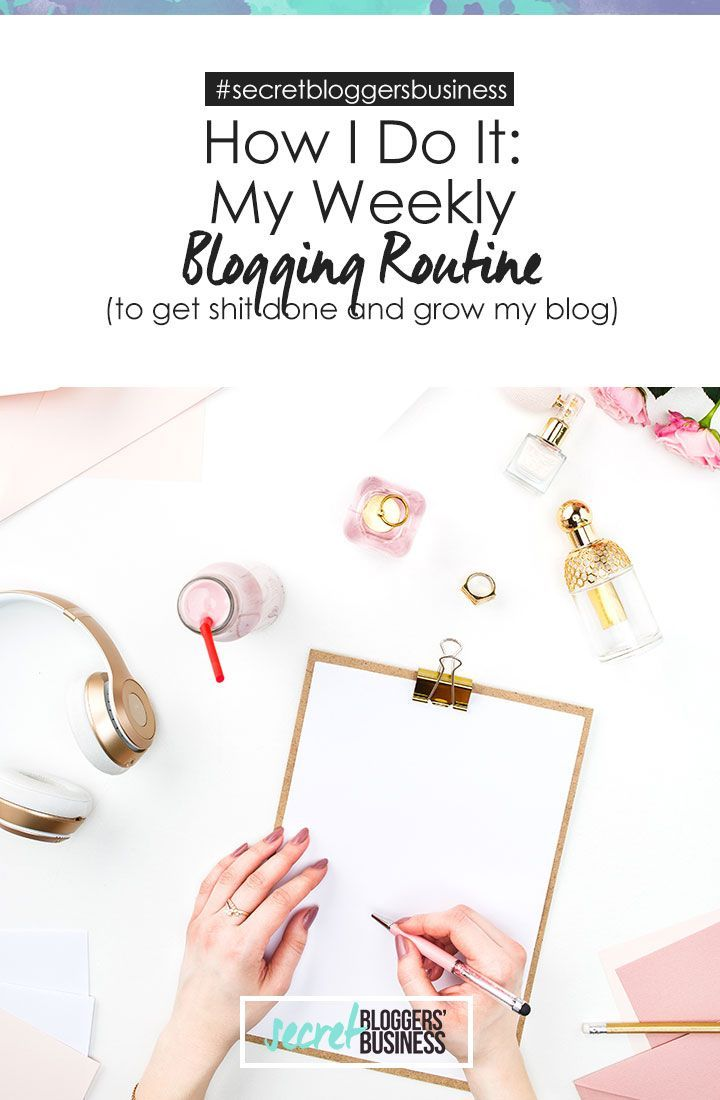 Trying to fit it all in when it comes to blogging or running a blog can be really tough (I should know, I run two!). So I am sharing my list of what I do when, and how I break up my week to get everything IMPORTANT done (and not lose my mind or life in the process!) Check it out here >> https://www.secretbloggersbusiness.com/how-i-do-it-part-1-what-i-do-and-dont-do-on-my-blog/