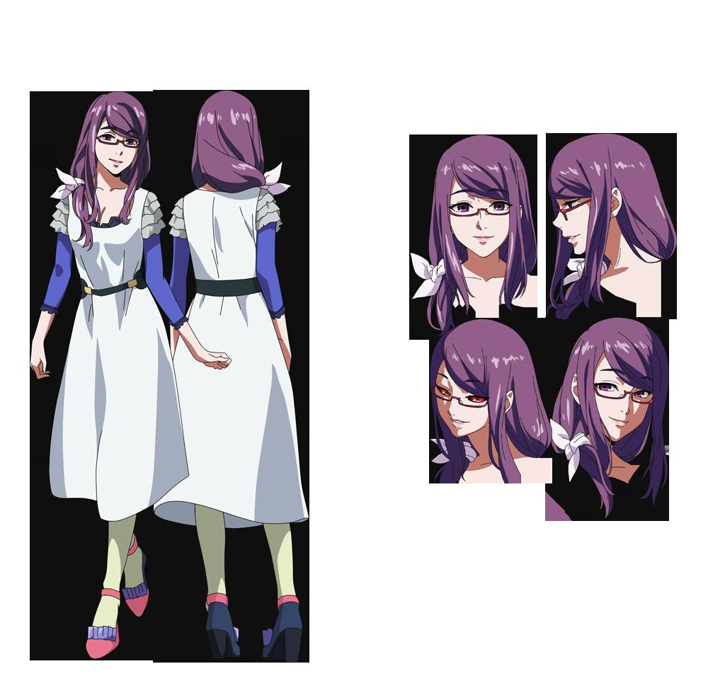 Good Anime Character Design : Tokyo ghoul toukyou kushu rize kamishiro