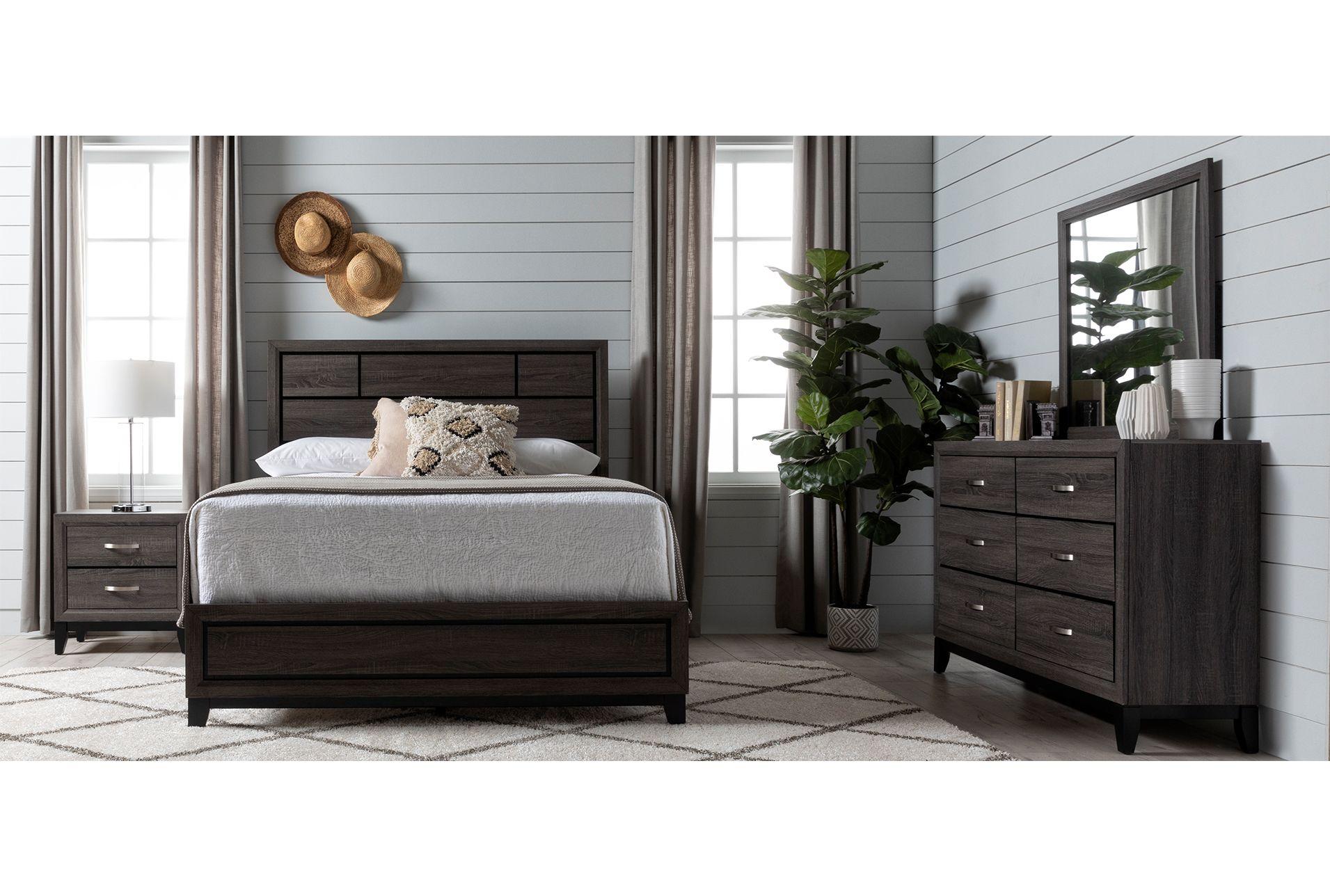 Best California King 4 Piece Bedroom Set Finley Grey 575 640 x 480