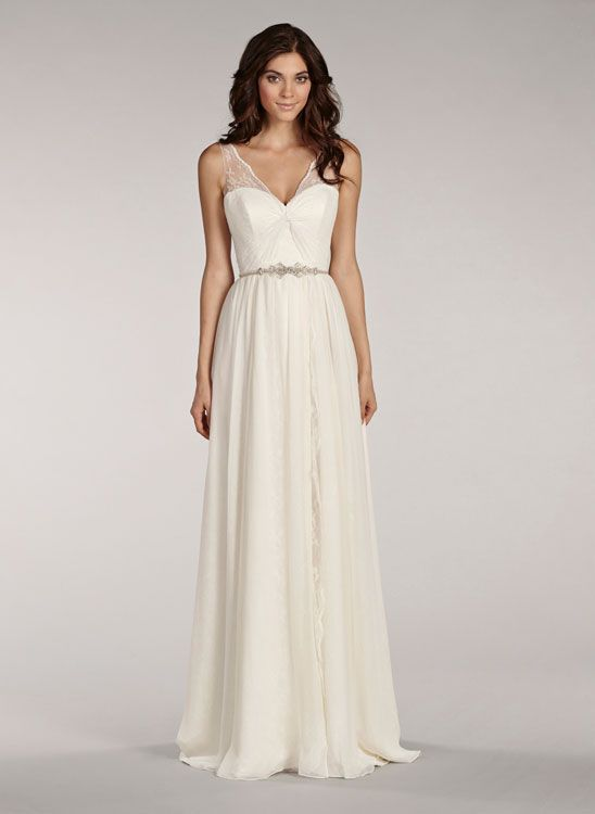 Silk Georgette Wedding Dresses