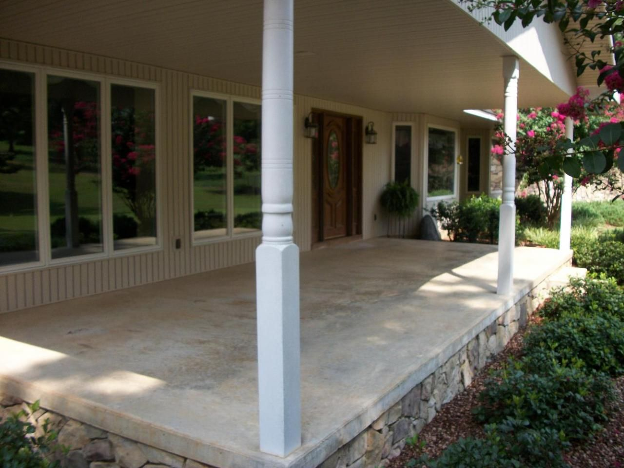 Image Result For Concrete Porch Ideas Front Porch Design Small Front Porches Designs Porch Design