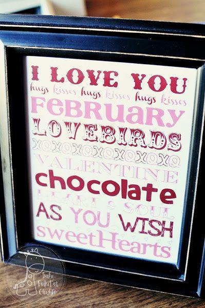 Funky Polkadot Giraffe: {Love} Month: Valentine's Day Printable