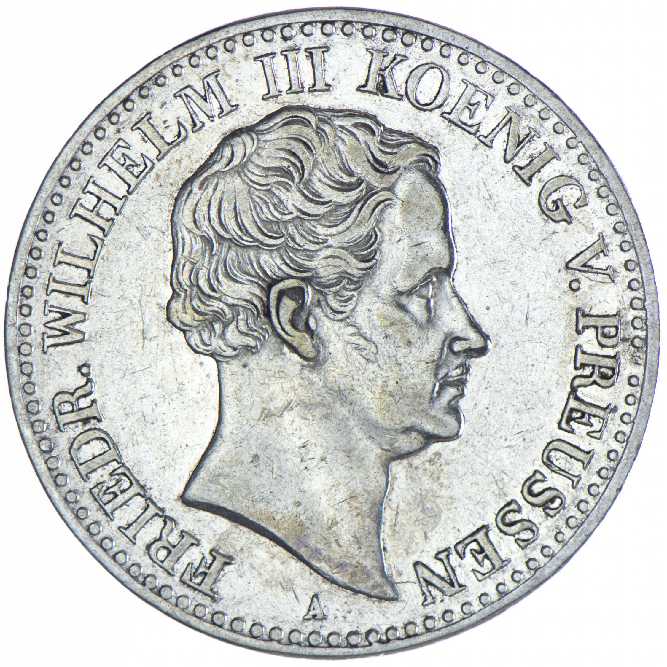 Preussen Friedrich Wilhelm Iii 1797 1840 Taler 1831 A