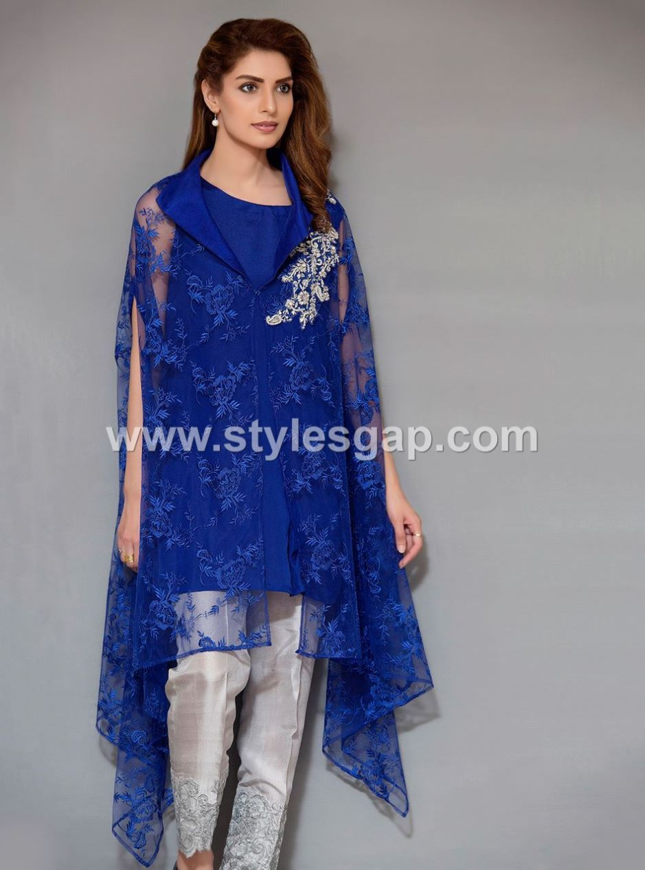 Latest Pakistani Cape Style Dresses 2020 2021 Top Designer