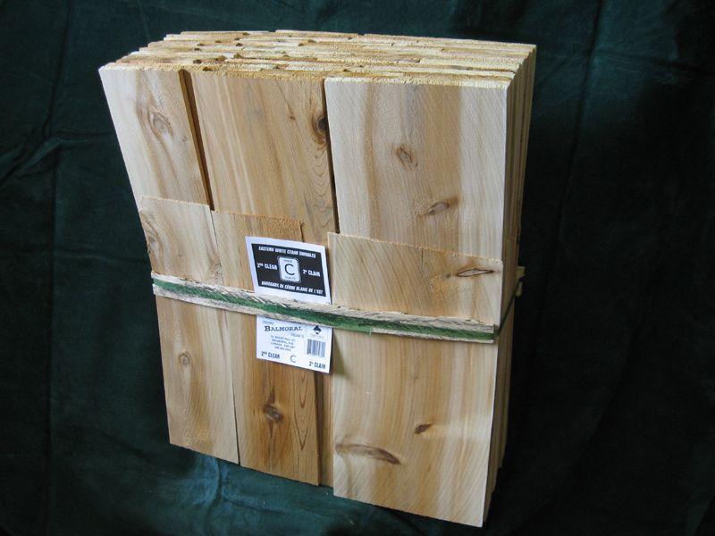 Best Eastern White Cedar Shingles 2Nd Clear Grade C The Black 400 x 300