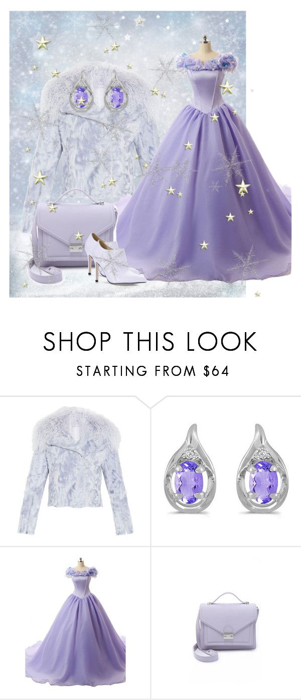 """""""154. Snow Serenity"""" by kristina-lindstrom ❤ liked on Polyvore featuring Hervé Léger, Amanda Rose Collection and Loeffler Randall"""