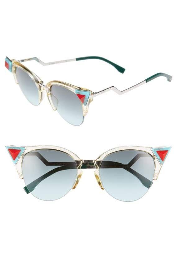 Idea by S A on polyvore items | Cat eye sunglasses. Sunglasses. Fendi