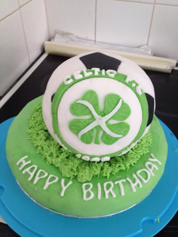 Celtic football cake happy birthday Pinterest Cake