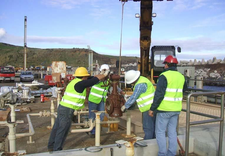 Fuel pier cathodic protection inspection and upgrade