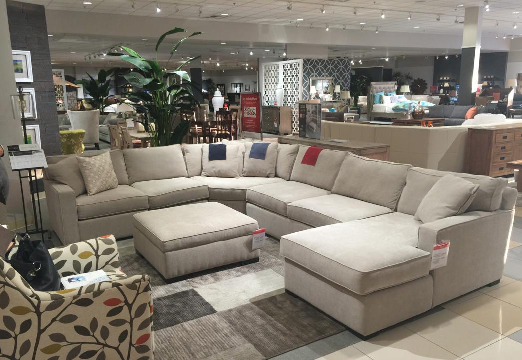 macys sectional sofas living room