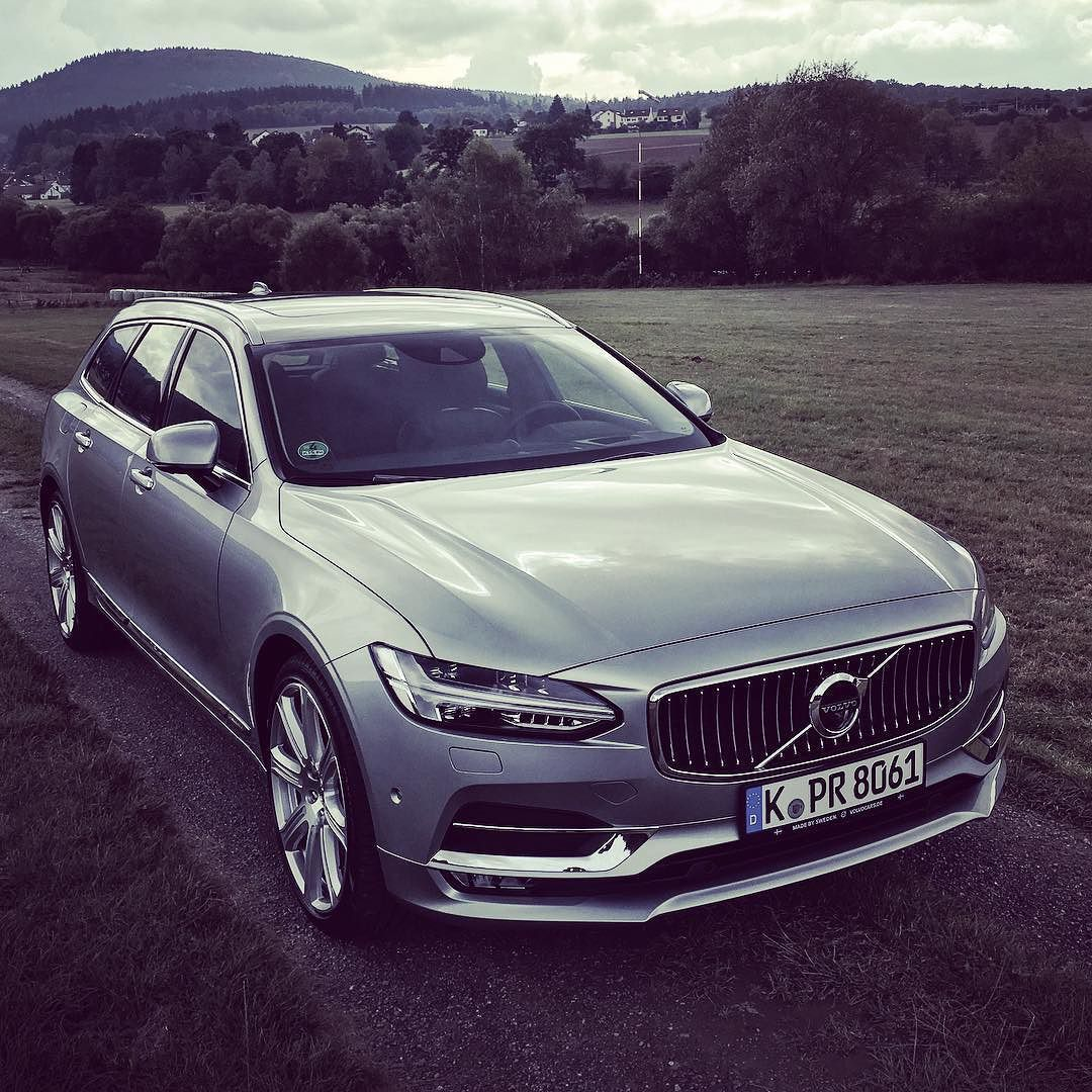 All-new Volvo V90 #testdrive At #oberursel @volvocarde