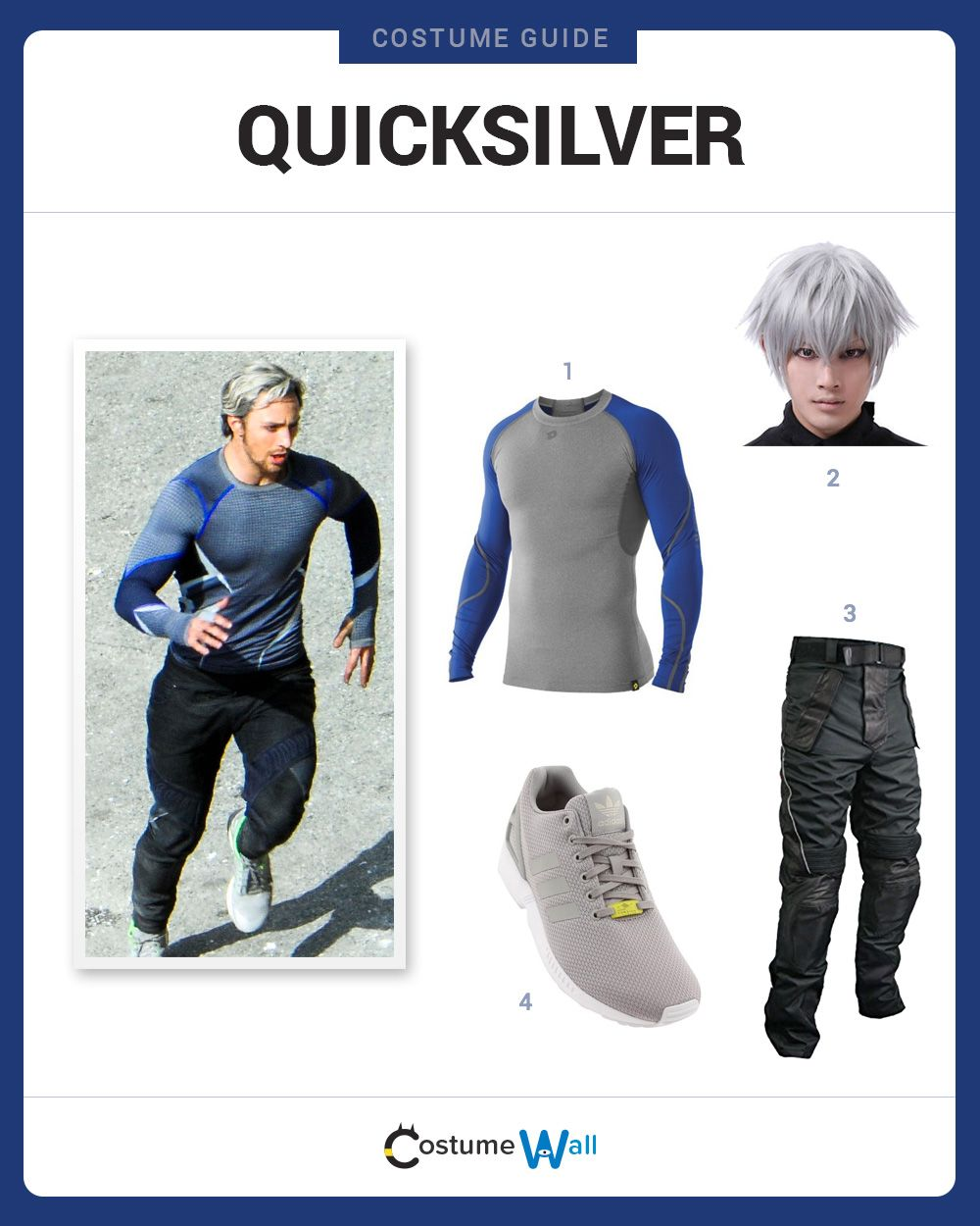 Dress Like Quicksilver | Costume and Cosplay