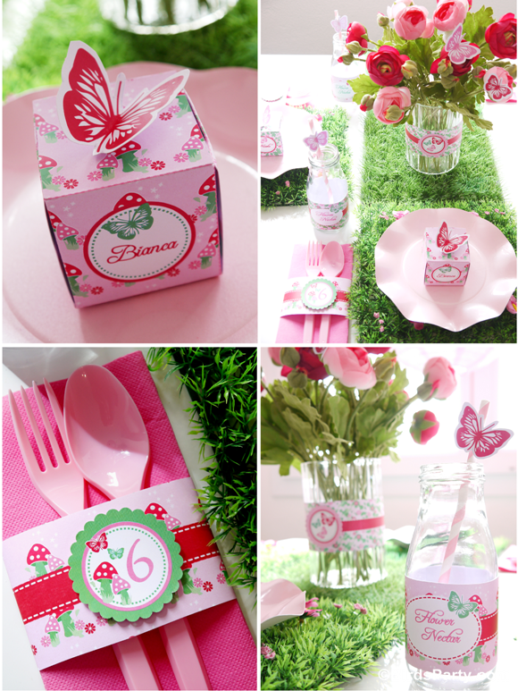 garden fairy birthday party Google Search For Little Ones