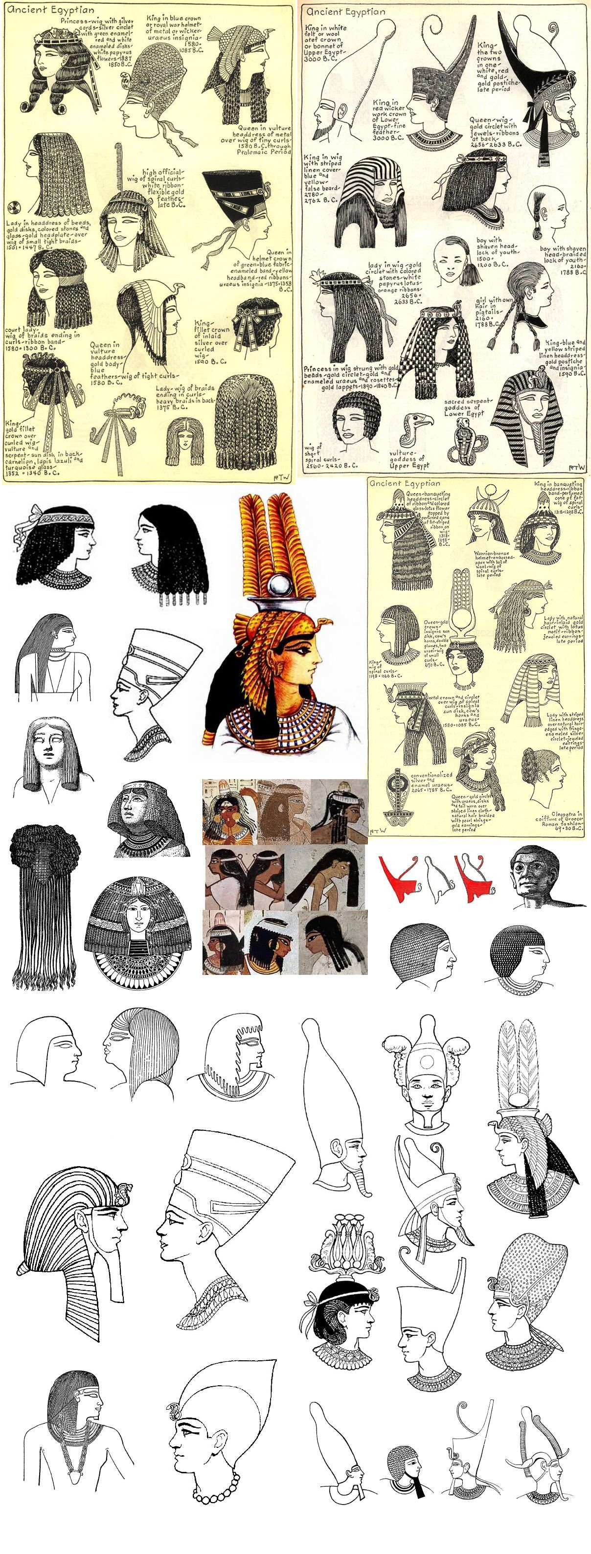 S Media Cache Ak0 Archaeology Ancient Egypt Hairstyles In 2020 Ancient Egypt Art Ancient Egypt Old Egypt